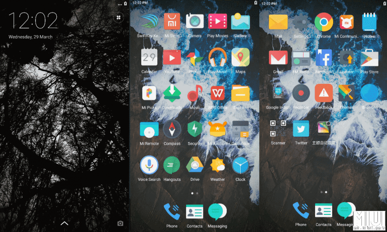 Android Black: A sophisticated dark theme for MIUI 8